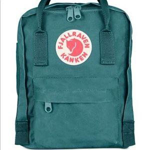Fjallraven Mini Kanken Backpack Teal